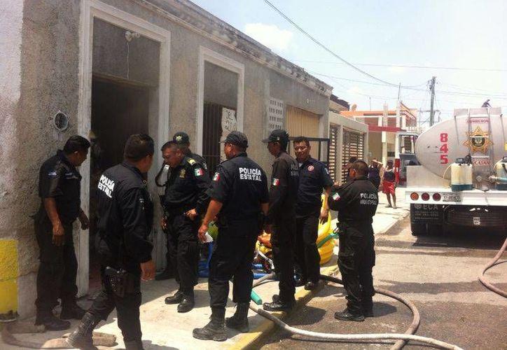 La tienda de juguetes donde se produjo el incendio está ubicada en la calle 31 con 92 del puerto de Progreso. (SIPSE)