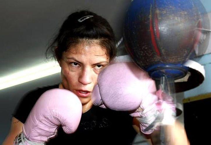 Ana María Torres, La Guerrera, cambiará los guantes por un cargo ejecutivo en el CMB. (mediotiempo.com/Foto de archivo)