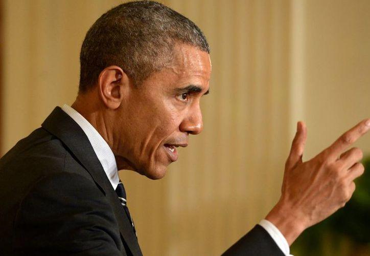 El presidente Obama todavía no toma una decisión oficial sobre un posible levantamiento al embargo de Cuba. (Notimex)