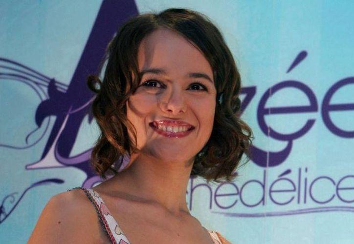 Alizée compartió una imagen del evento en la que se presentará. (vanguardia.com)
