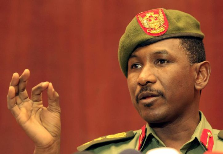 El portavoz del Ejército sudanés, Sawarmi Saad Jaled. (Archivo/EFE)