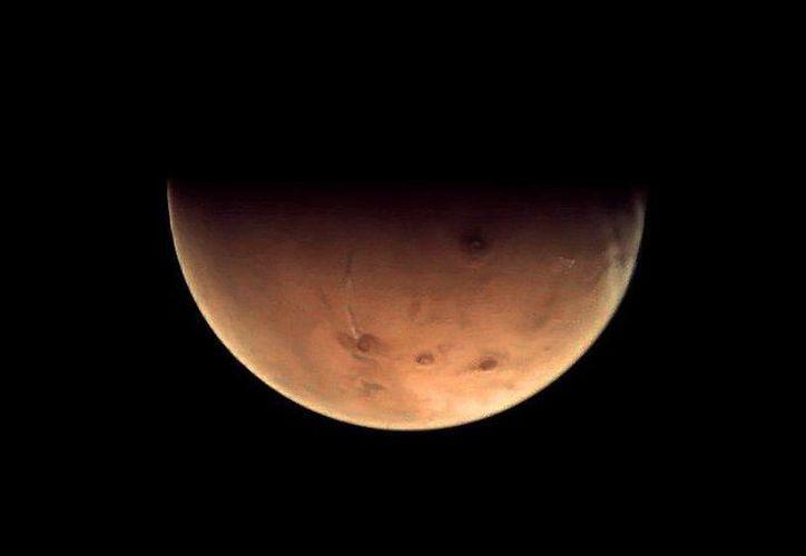 La NASA indicó que se ha estado preparando por 13 años para la siguiente etapa de la exploración, que incluye a Marte, planeta que aparece en la imagen. (solarsystem.nasa.gov)