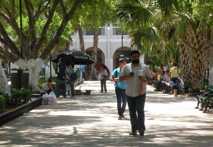 Este miércoles en Mérida, la temperatura máxima se registró a las tres de la tarde con 37 grados. (Milenio Novedades)