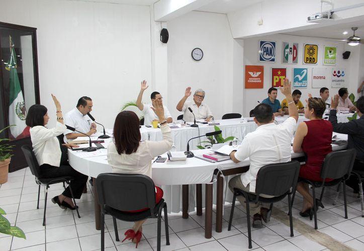 Son Juntos Haremos Historia, Por Quintana Roo al Frente y Coalición por Quintan Roo. (Joel Zamora/SIPSE)