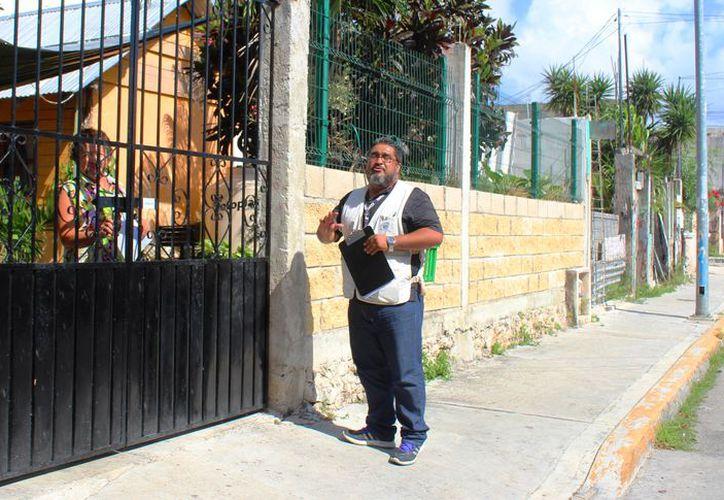 En Playa del Carmen están desarrollando la Encuesta Nacional de Ocupación y Empleo 2018. (Daniel Pacheco/ SIPSE)