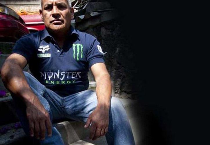 José Luis Moreno tiene un pesado pasado, cuando su nombre de batalla era El Hacha, líder de la temible banda ochentera Los Panchitos. (Arturo Bermúdez/MILENIO)