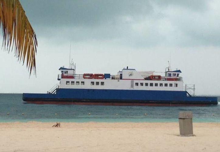 Volvió el ferry después de permanecer 56 días en Ciudad del Carmen, Campeche. (Lanrry Parra/SIPSE)