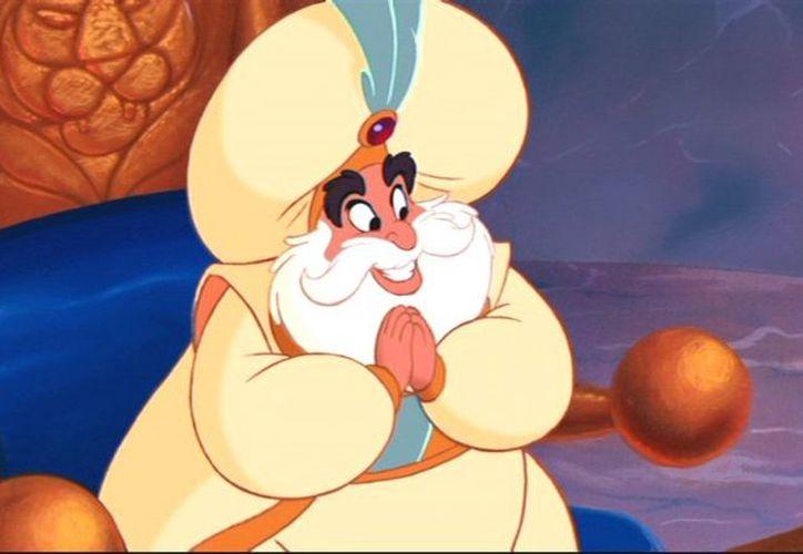 """La palabra sultán, puede traducirse como """"gobernador mahometano"""". (Disney)."""