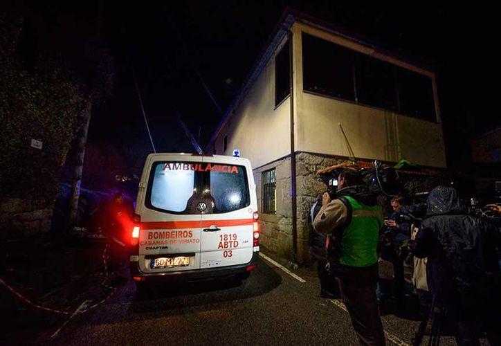 Ocho personas murieron y 36 más resultaron heridas en una explosión en Portugal. (AP)