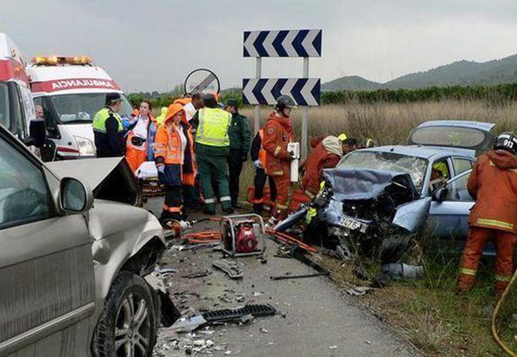 Los siniestros automovilísticos son la primera causa de fallecimientos en niños de 5 a 14 años. (MVS)