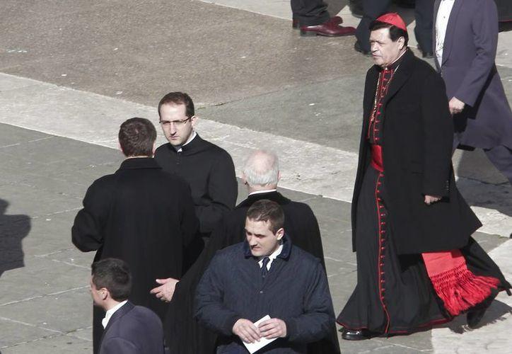 """Una organización enlista al cardenal mexicano entre """"la sucia docena"""". (Archivo/Notimex)"""