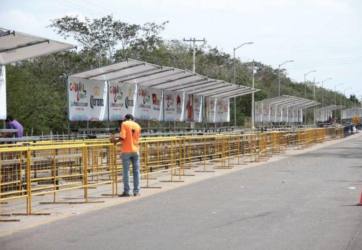 La mayoría de las actividades del Carnaval de Mérida 2017 se realizarán en la zona de Xmatkuil. (Jorge Acosta/SIPSE)