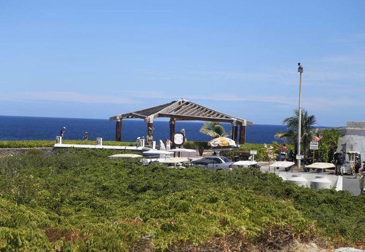La Punta Sur de la isla es uno de los lugares con la mejor vista. (Redacción/SIPSE)