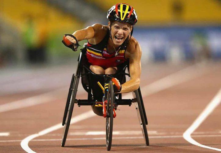 Río volverá a vibrar, ahora con la presencia de los mejores deportistas paralímpicos del orbe. En la foto, Marieke Vervoort. (sportyou.es)
