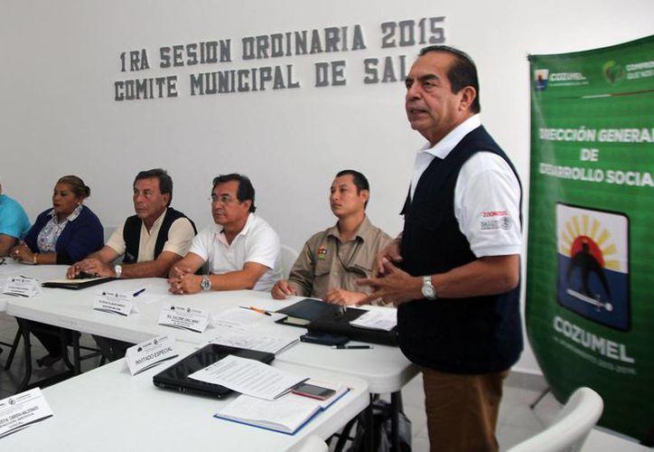 El Comité de Salud Municipal celebró su primera sesión. (Redacción/SIPSE)