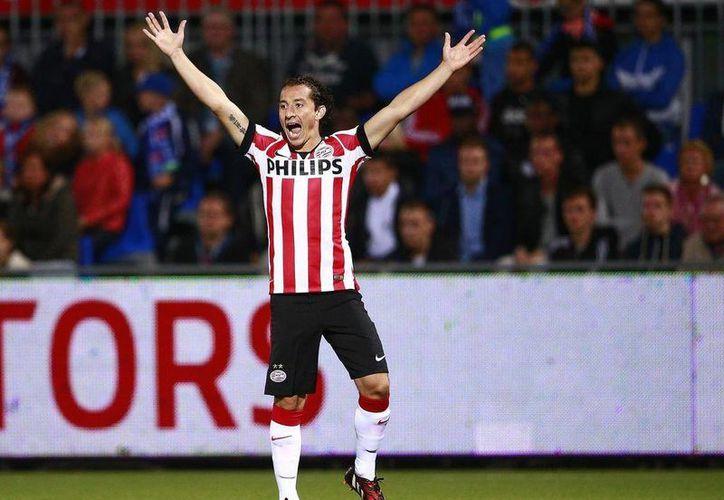 El mexicano Andrés Guardado fue nombrado Mejor jugador del Año en la Liga de Holanda. (livefutbol.com)