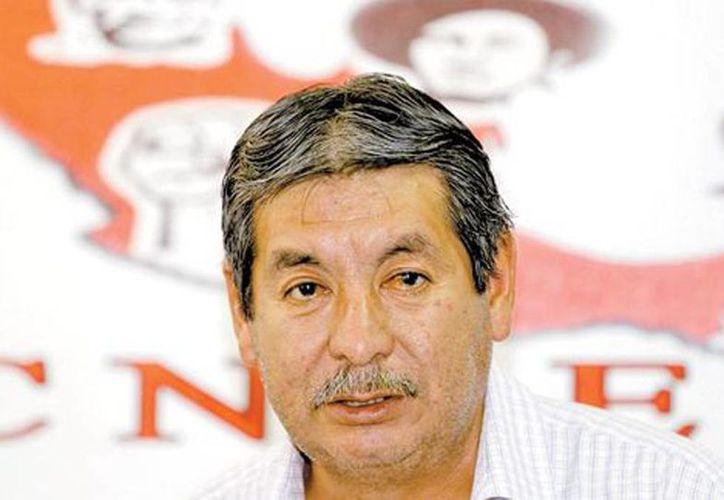 El disidente Rubén Núñez calificó de 'denostaciones' las acusaciones de Mexicanos Primero. (Héctor Téllez/Milenio)