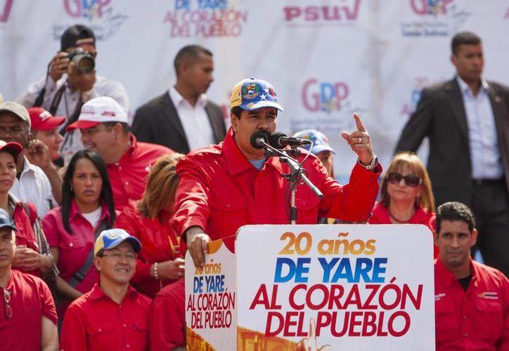 Maduro no ofreció detalles sobre el intento de golpe presuntamente encabezado por tres militares. (EFE)