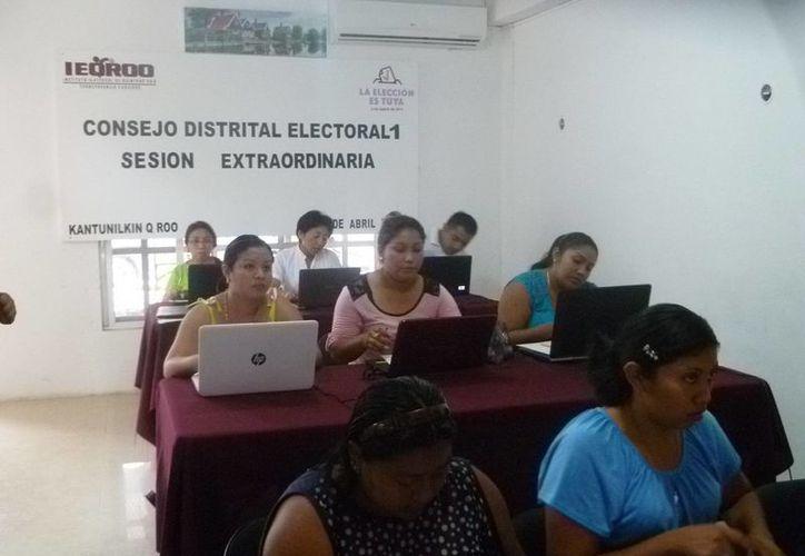 Las oficinas del Consejo Distrital del Ieqroo fue la sede para la capacitación. (Raúl Balam/SIPSE)