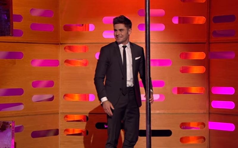 Zac Efron sorprende a sus seguidoras con pole dance — YouTube