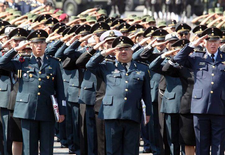 La Sedena llamó a los miembros del Ejército a conducirse con disciplina. (Notimex)