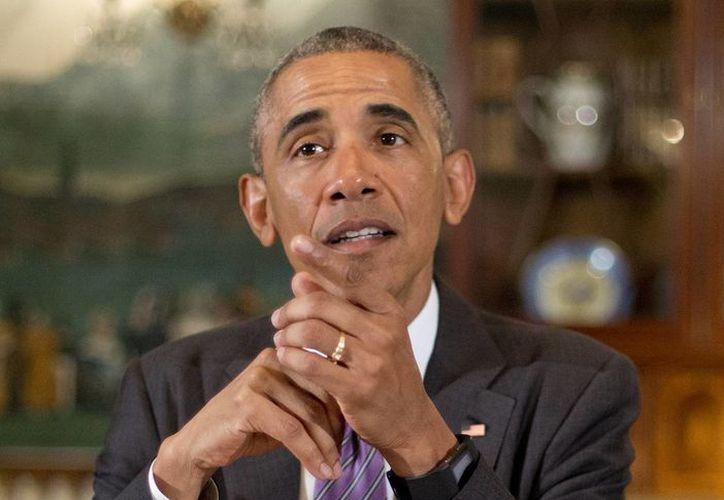 El presidente de EU, Barak Obama dijo que el paquete de ayuda es la única manera que Puerto Rico salga de esta crisis. (Agencias)