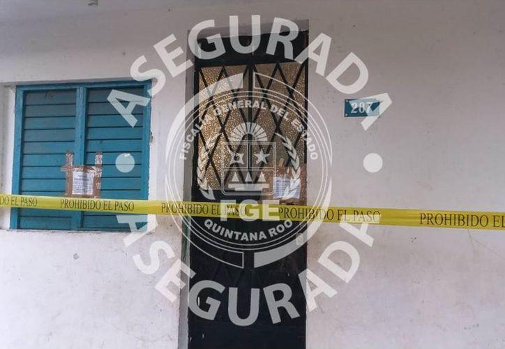 La Fiscalía General del Estado en coordinación con el Ejercito realizó un cateo en un domicilio de Chetumal y decomisó cocaína. (Cortesía)