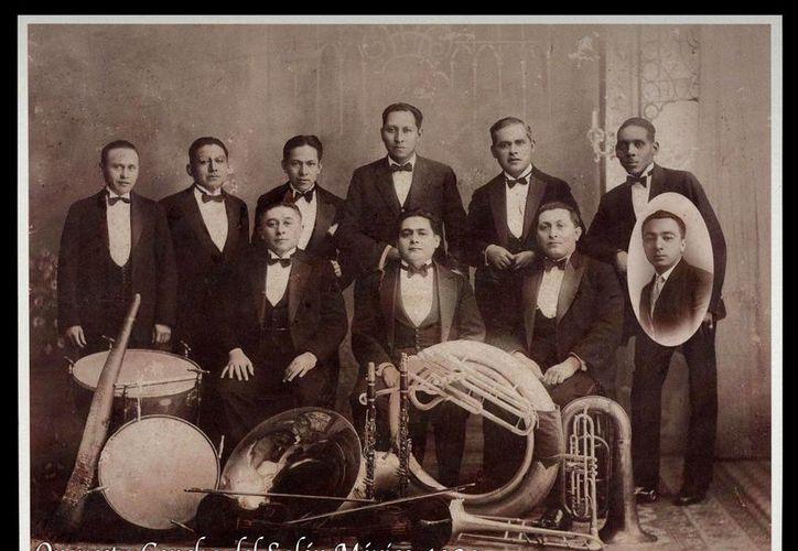 Imagen de la agrupación restaurada en el Centro de Investigación Musical Baqueiro Fóster. (Milenio Novedades)
