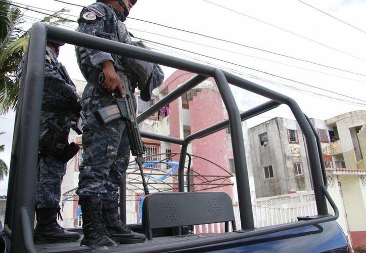 Los elementos de seguridad lograron ubicar el domicilio en el fraccionamiento San Gerónimo III. (Redacción/SIPSE)