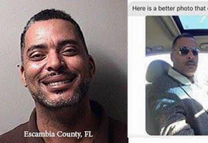 El departamento de Policía de Ohio publicó en su página de Facebook una selfie que le había remitido un fugitivo al que los agentes buscaban en esos momentos. (Facebook/Lima Police Department)