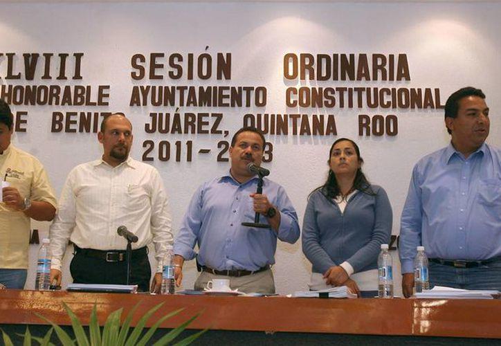 El alcalde Julián Ricalde Magaña dijo que con la nueva ordenanza se da un gran paso. (Cortesía/SIPSE)