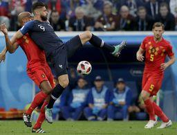 ¡Francia es finalista! 1-0 Bélgica