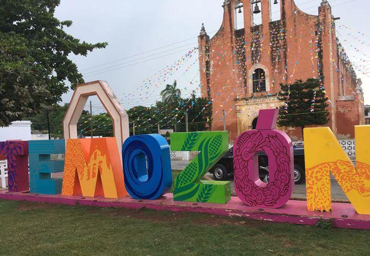 La iglesia de Nuestra Señora de la Asunción está ubicada en el municipio de Temozón. (Ana Hernández/SIPSE)