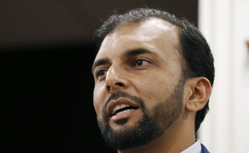 Qasim Rashid, excandidato demócrata para el Senado de Virginia, recibió ua amenaza por tuit de que sería linchado por ser musulmán. (Foto: AP).