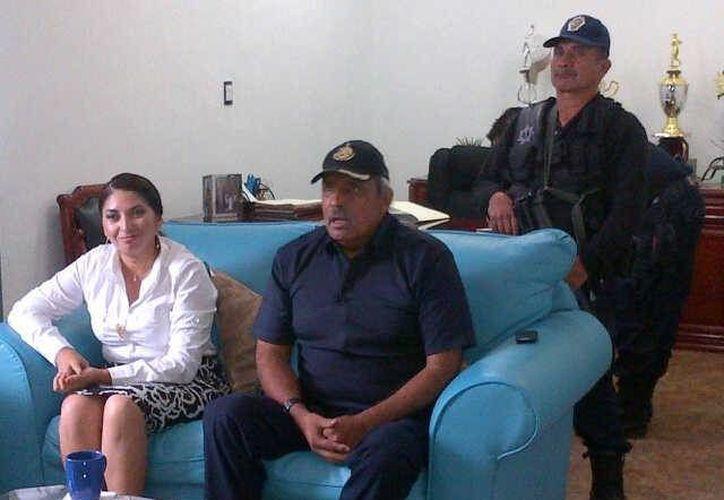 El general, Carlos Bibiano Villa Castillo, realizó una visita en el municipio de Lázaro Cárdenas. (Redacción/SIPSE)