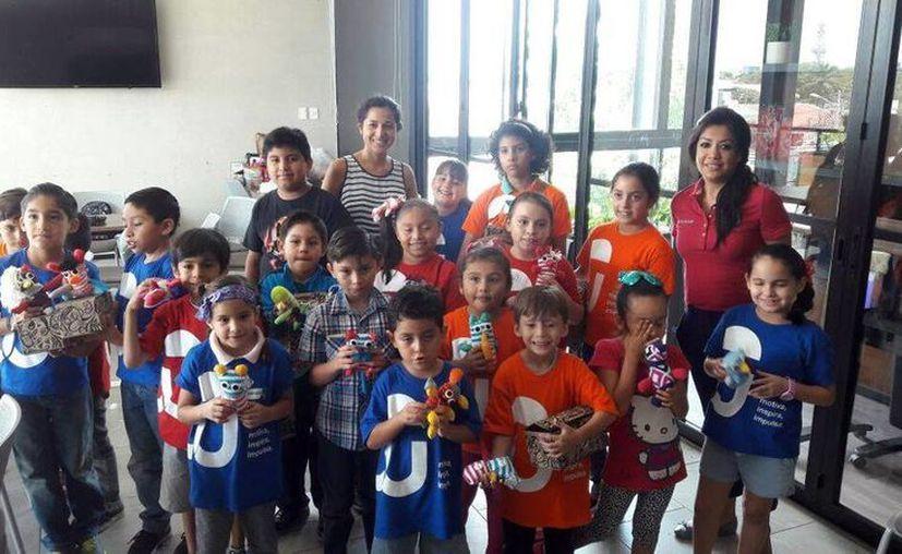 El IYEM promueve entre la niñez yucateca la cultura emprendedora. (Milenio Novedades)