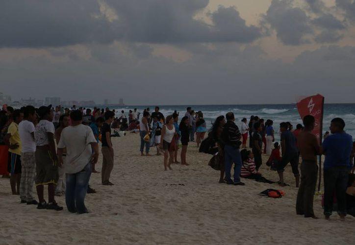 El año pasado arribaron a Cancún un millón 400 mil visitantes nacionales. (Israel Leal/SIPSE)