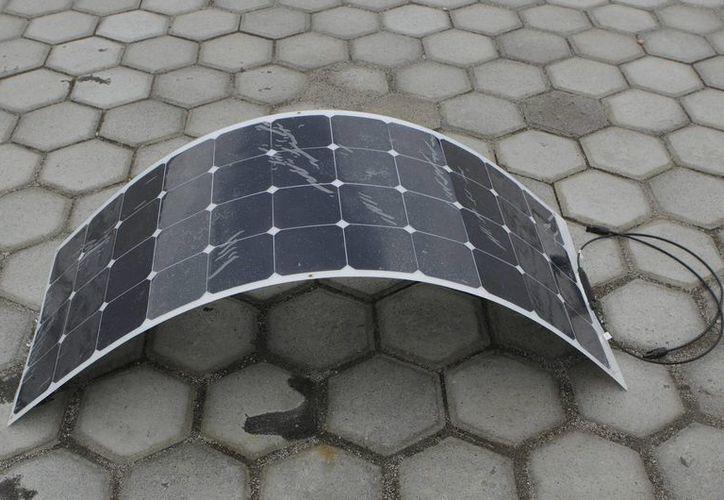 La XXXIX Semana Nacional de Energía Solar se realizará del 5 al 9 de octubre en San Francisco, Campeche. En la foto, un panel solar. (Notimex)