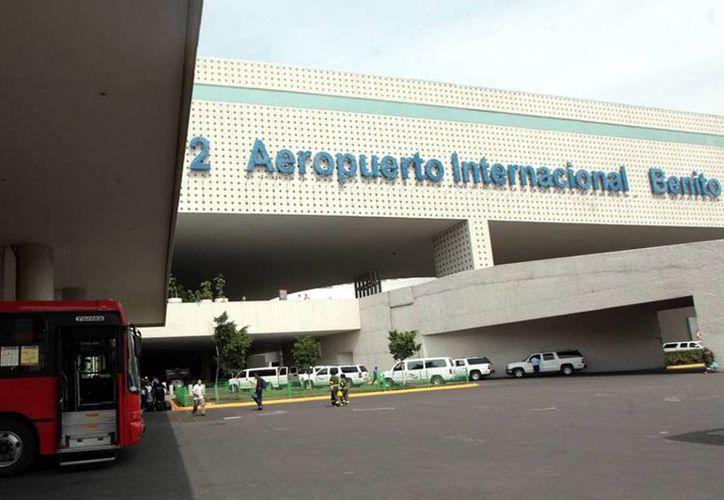 Autoridades del aeroportuarias de la Ciudad de México solicitaron 184 millones de pesos para aumentar la vigilancia en sus instalaciones. (Archivo SIPSE)