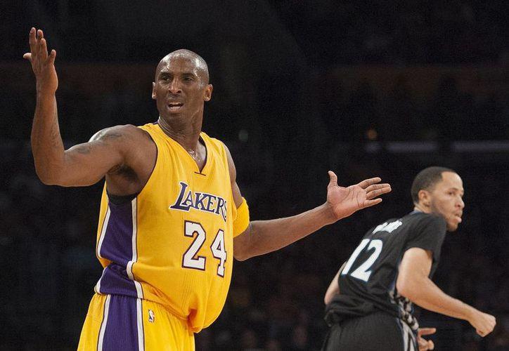 La estrella de la NBA, Kobe Bryant ha manifestado sus intenciones de retirarse del basquetbol profesional en la presente temporada. (Archivo AP)