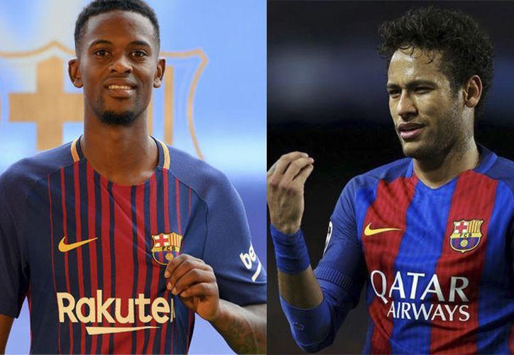 El pleito entre Neymar y Semedo sucedió durante un entrenamiento en Estados Unidos. (Foto: Redacción)
