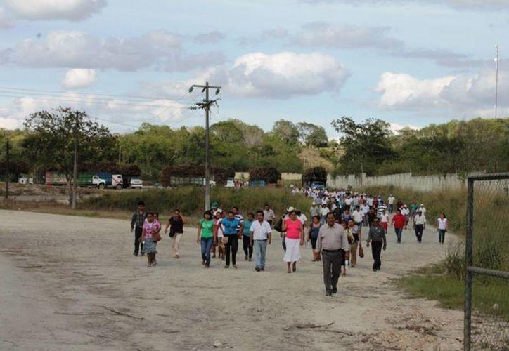 La magnitud del proyecto hasta el momento no beneficia a los cañeros. (Edgardo Rodríguez/SIPSE)