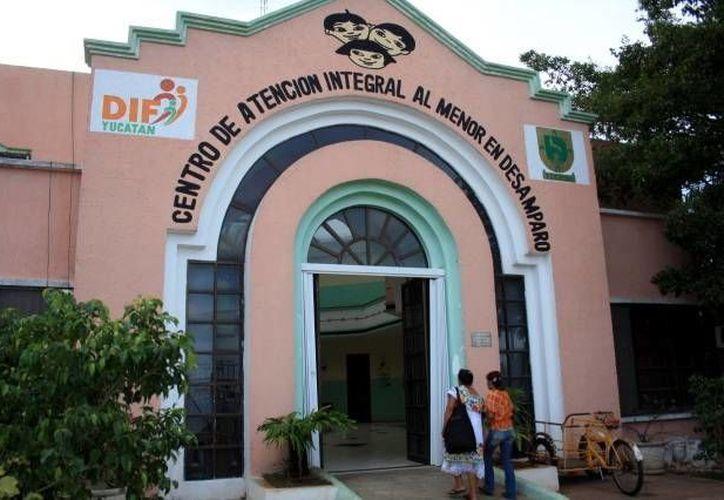 Instalaciones del Centro de Atención Integral al Menor en Desamparo. (Milenio Novedades)