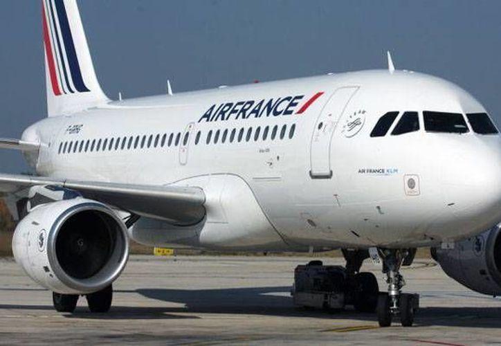 El Airbus A319 que cubría la ruta Moscú-París se habría encontrado con un Tupolev Tu-95 a escasos metros de distancia. (corporate.airfrance.com)