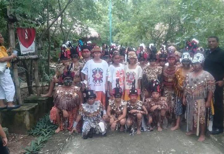 Los niños mayas también han viajado a Colombia, República Dominicana y Suecia. (Foto: Cortesía)