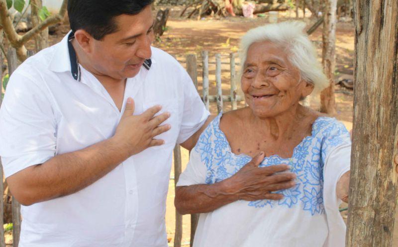 """Alfredo Caamal """"Caamalito"""" reafirmó que será la voz del pueblo. (Redacción/SIPSE)"""