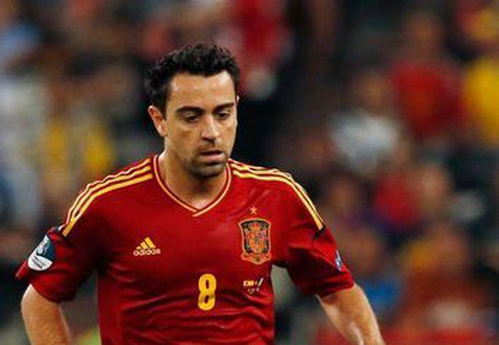 El internacional Xavi dijo adiós a la Selección de España, en la que pudo escribir, junto con otros jugadores de una camada espectacular, el mejor capítulo de la historia de La Roja. (soydelaroja.com)