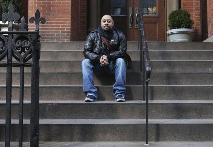 Raymond Santana posó para un retrato en Nueva York el pasado miércoles. (Agencias)