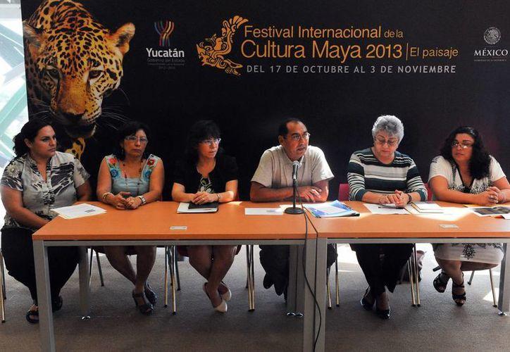 Afinan detalles para la Feria Internacional de la Cultura Maya. (Milenio Novedades)