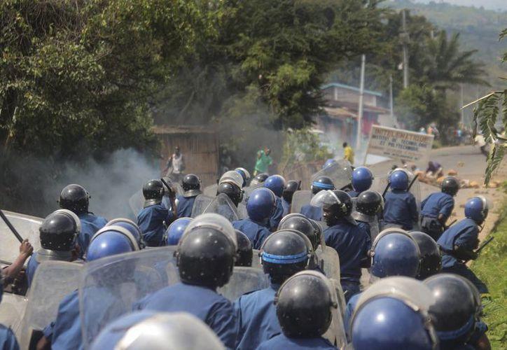 El jueves se registraron enfrentamientos entre militares golpistas y leales al Gobierno de Burundi. (EFE/Archivo)
